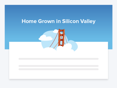 Super | Home Grown in Silicon Valley 🌁 karl the fog golden gate silicon valley san francisco vector icon illustration hellosuper super