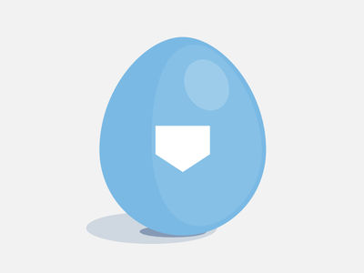 Super Easter 🥚 logo egg easter egg easter branding super hellosuper vector illustration