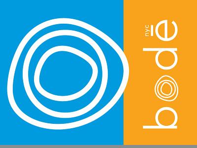 bodē NYC Identity design logo branding