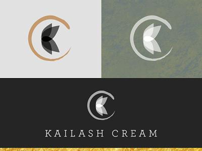 Kailash Cream Logo branding design logo