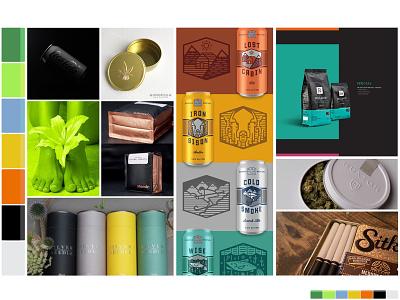Identity Moodboard: Monochromatic color pallete mood board moodboard inspiration color pallet color design branding