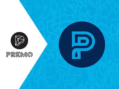 Premo Logo Refresh inspiration cannabis branding cannabis logo cannabis logo design branding