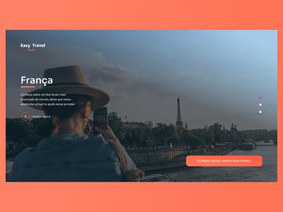 Easy travel travel ux ui web design