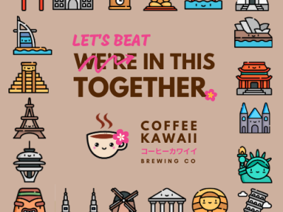 We ll Beat This Together branding instagram social media inspirational covid19