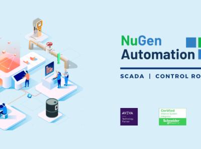 LinkedIn Banner for NuGen Automation advertising social media
