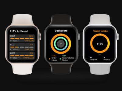 iWatch App Concept
