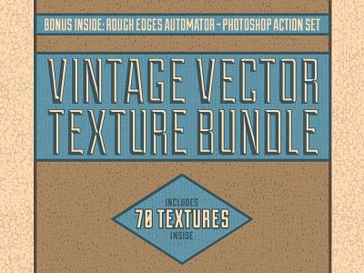 Vintage Vector Texture Bundle vintage vector texture vintage texture grunge distress illustrator resources texture pack vintage textures matt borchert applesauce