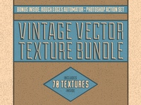 Vintage Vector Texture Bundle
