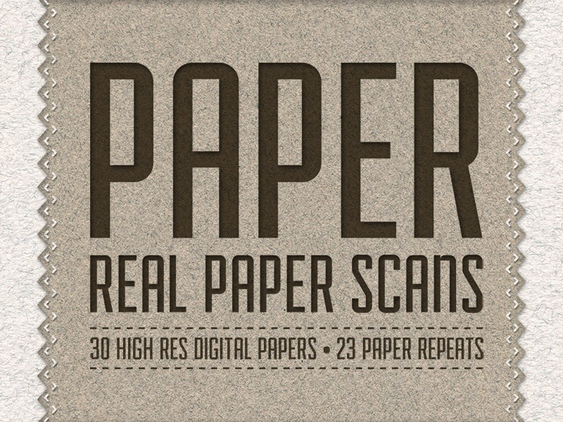 Paper Pack - 30 Digital Paper Scans paper texture design textures handmade paper textures resources design resources creative market matt borchert