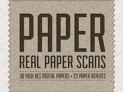 Paper Pack - 30 Digital Paper Scans paper texture design textures handmade paper textures resources design resources creative market matt borchert