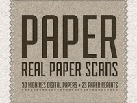 Paper Pack - 30 Digital Paper Scans