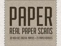 Paper Pack - 30 Digital Paper Scans
