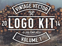 Vintage Vector Logo Kit