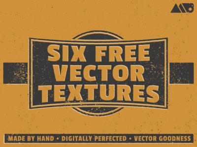 6 Free Vector Textures