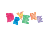 Crayon lettering