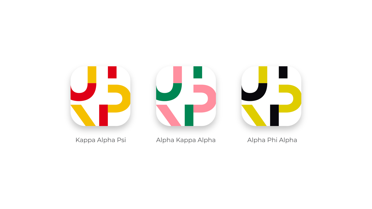 Uni phi branding propositions custom app icons
