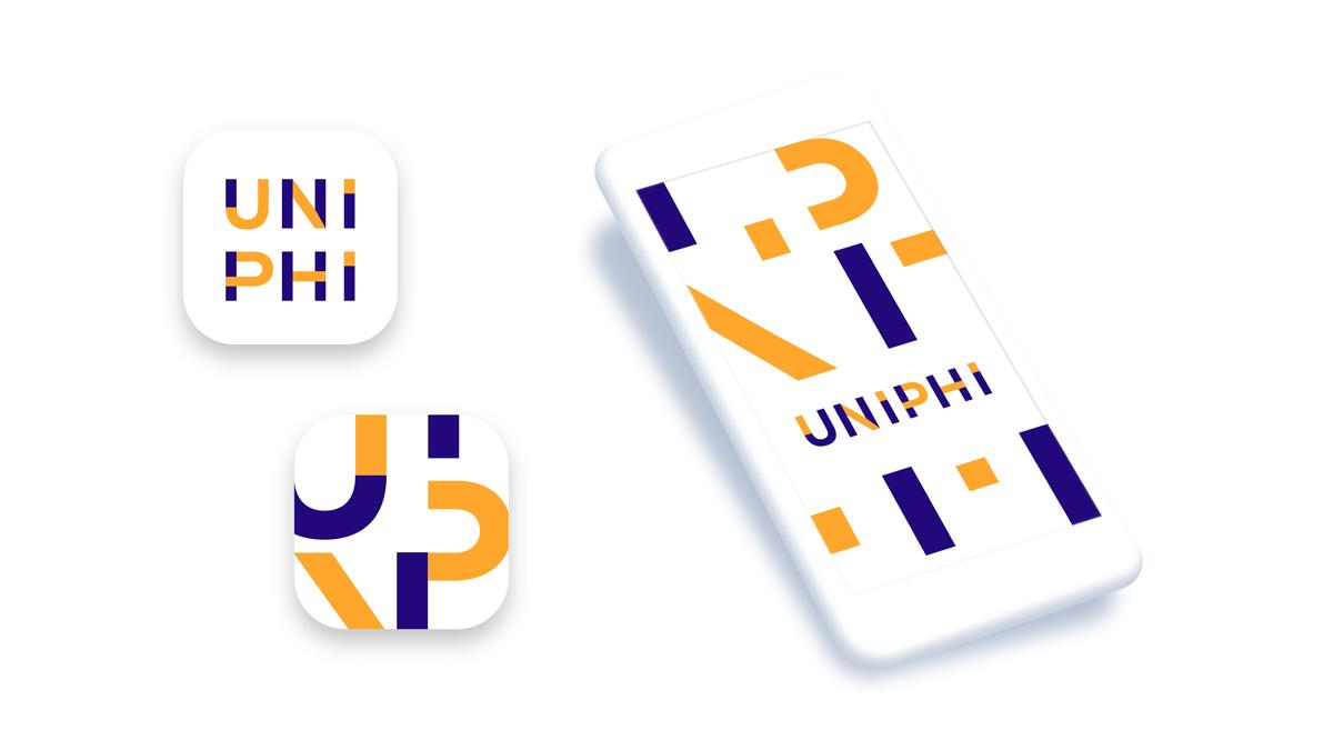 Uni phi branding proposition splash