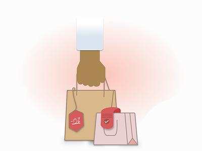 Discount Shopping design vector illustration