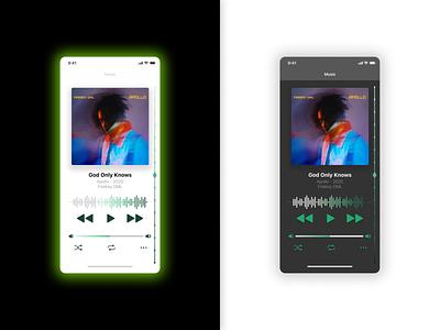 Daily UI Day 9: Music Player apps app design app playlist mobileappdesign music music player dailyuichallenge daily ui ux ui design