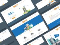Qeema Facility Management Corporate Website Design