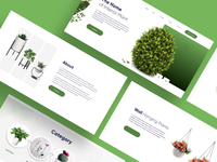 Plants For Styling your home: Website Design after effects animation homepage design landing page outdoors indoor plant styling your home modern design branding design creative clean ui uxdesign uiux website concept website motion motion design home decoration green plants website design landing page design
