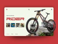RIDER: Let's ride