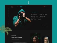PHOTOGRAPHY: Landing page