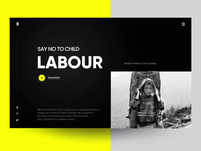 Child Labour Landing page