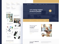 Creative UI/UX Agency: Landing Page