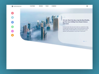 Landing page: Social web-page