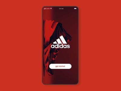 Adidas Footwear App Animation