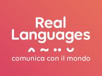 Real Languages branding