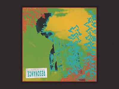 198 album typography vaporwave type techno glitch bold cyberpunk punk grunge