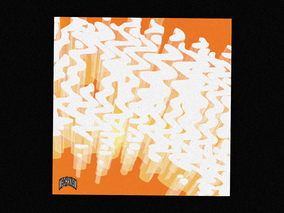 205 :: Mechanism techno glitch graphics cyberpunk design bold punk typography grunge logo
