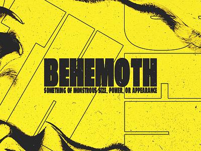 ✶ 🎀 𝐵𝐸𝐻𝐸𝑀😍𝒯𝐻 🎀 ✶ type bold typography vaporwave cyberpunk punk grunge techno glitch poster