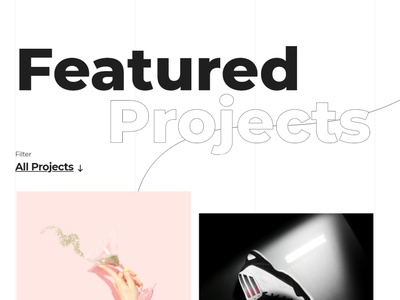 Featured Projects Design Concept user inteface landing page skg ecommerce designer creative web development business design web design product design featured project