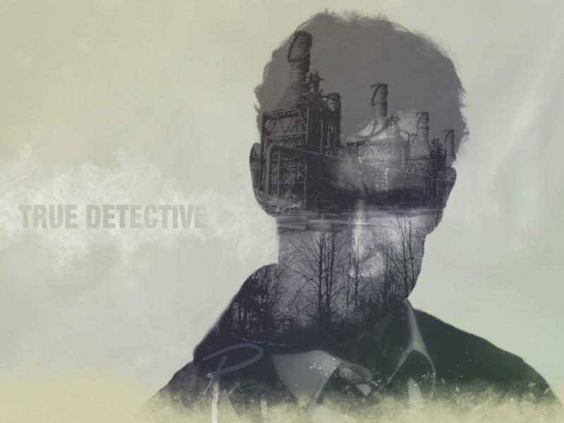 True Detective  illustration affinity designer raster art macaffinity timelapse