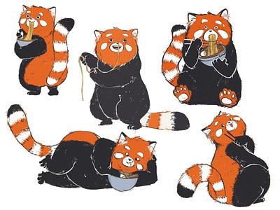 Characterdesign Panda