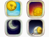 Time Shift Icons