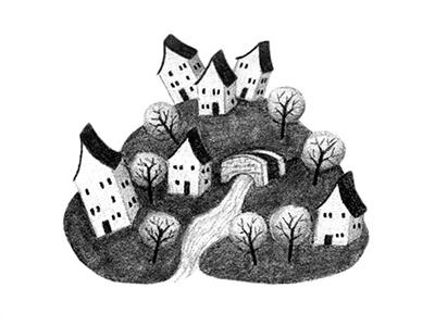Spot Illustration Sample Four