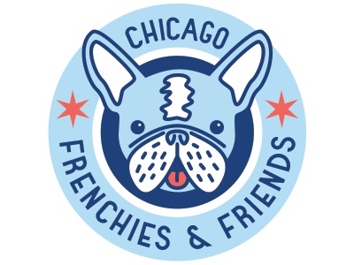 Chicago Frenchies And Friends Logo