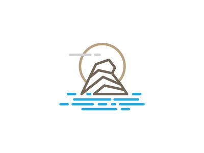 La Maison Blanche identity brand mykonos hotel logo