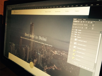 Hotel Theme - WIP work in progress bootstrap themes