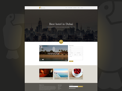 Hotel hotel bootstrap website free download