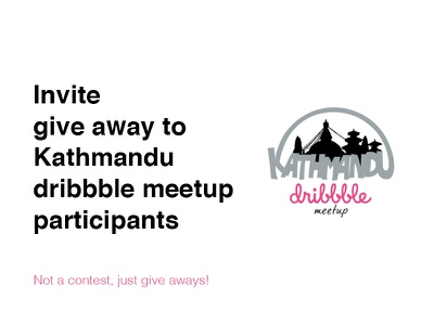 Give away for #dribbblektm invite give away