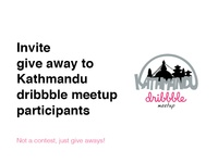 Give away for #dribbblektm