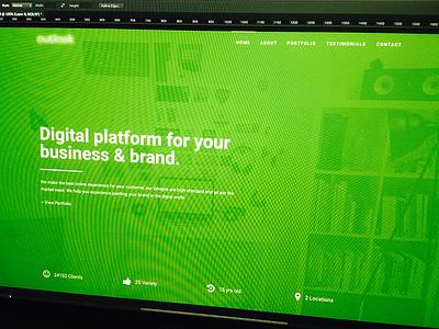 Digital Platform agency theme website