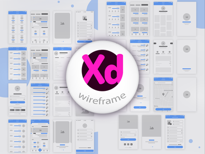 Wireframe Design post review prototype productdesign illustration banner overview concept invision figma adobexd website application mobile wireframe branding logo graphic design 3d