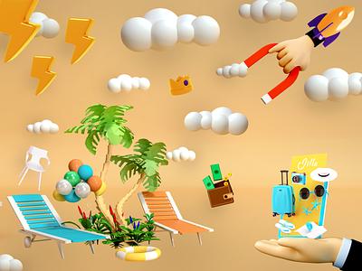 Creative #3D creative product branding illustration ui design dribbble best shot 3d animation smooth animation smooth photoshop aftereffort animation blender 3d website ux