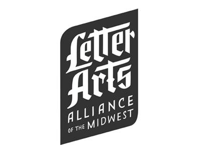 *Updated* Letter Arts Alliance Logo logo letter arts hand lettering custom font calligraphy handlettering blackletter